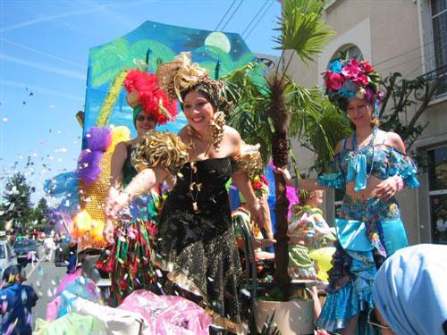 Carnaval Latino organizado por Norma Ciuffo en Francia