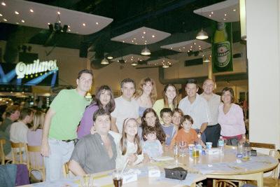 Despedida en Buenos Aires, con nuestros amigos.