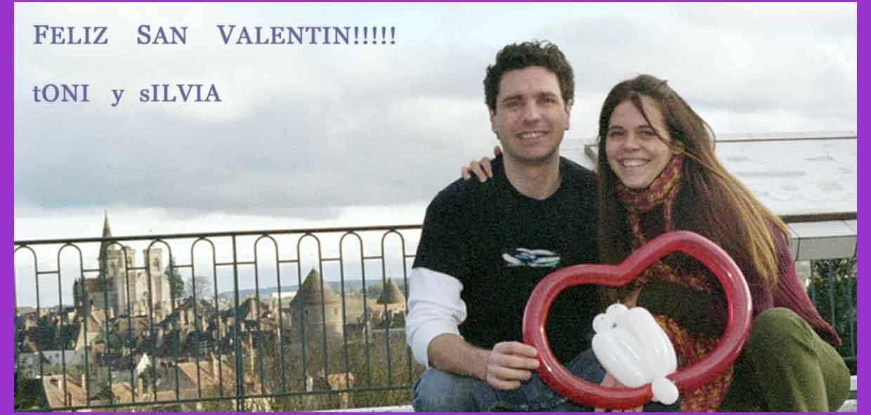 San Valentin en Francia- Silvia y Toni